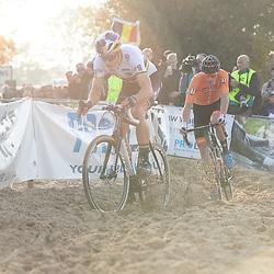 04-11-2018: Wielrennen: EK veldrijden: Rosmalen <br />Wout van Aert, Mathieu van der Poel
