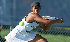 2017 A&T Women's Tennis vs East Carolina