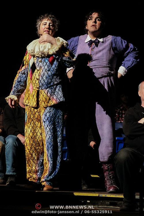 NLD/Amsterdam/20120322 - Voorstelling Cirque du Soleil Corteo,