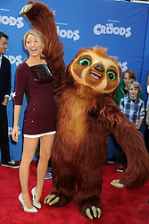 Blake Lively at the 'The Croods' premiere at AMC Loews Lincoln Square 13 theater, New York, USA, March 10, 2013. Photo by Imago / i-Images...UK ONLY..Contact..Andrew Parsons: 00447545 311662.Stephen Lock: 00447860204379