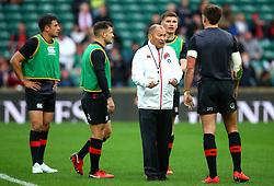 England head coach Eddie Jones - Mandatory by-line: Robbie Stephenson/JMP - 11/11/2017 - RUGBY - Twickenham Stadium - London, England - England v Argentina - Old Mutual Wealth Series
