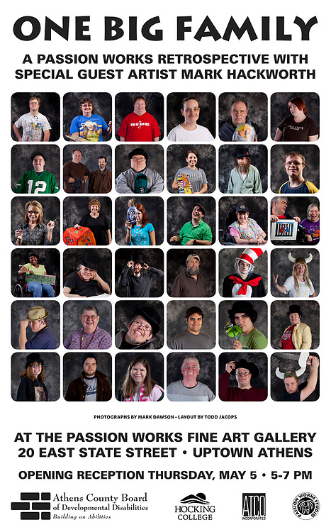Passionworks artists portraits.