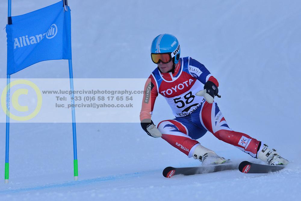 WHITLEY James LW5/7-3 GBR at 2018 World Para Alpine Skiing World Cup, Veysonnaz, Switzerland