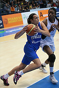 Pomezia, 17/05/2015<br /> Basket, Nazionale italiana Femminile <br /> Amichevole <br /> Italia - Gran Bretagna<br /> Nella foto: Martina Bestagno<br /> Foto Ciamillo