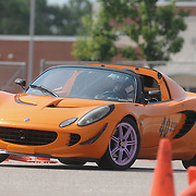 Tim Geary competes in Disorderly Coneduct Autox at Blackwater Sunday July 27, 2014 on the North Campus of Cape Fear Community College in Castle Hayne, N.C. (Jason A. Frizzelle)