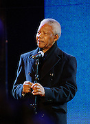 Nelson Mandela Trafalger Square - London 2001
