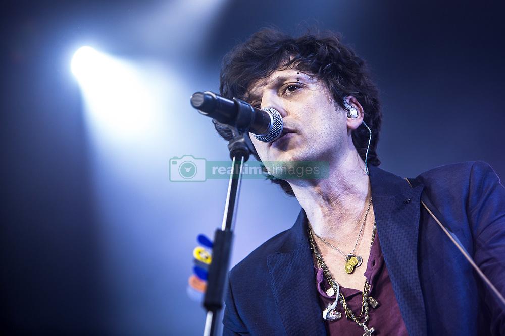 May 7, 2017 - Milano, Italy, Italy - Italian-Albanian singer-songwriter Ermal Meta performs live at Alcatraz in Milano. (Credit Image: © Mairo Cinquetti/Pacific Press via ZUMA Wire)