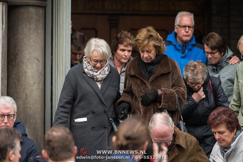 NLD/Rotterdam/20180220 - Herdenkingsdienst Ruud Lubbers, Neelie Smit Kroes