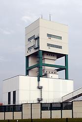 Förderturm des Bergwerks zur Erkundung eines Endlagers für hochradioaktiven Atommüll in Gorleben<br /> <br /> Ort: Gorleben<br /> Copyright: Andreas Conradt<br /> Quelle: PubliXviewinG