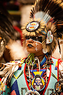 Gathering of Nations Pow Wow, Nez Perce Traditional Dancer, Albuquerque, New Mexico, Chief Joseph