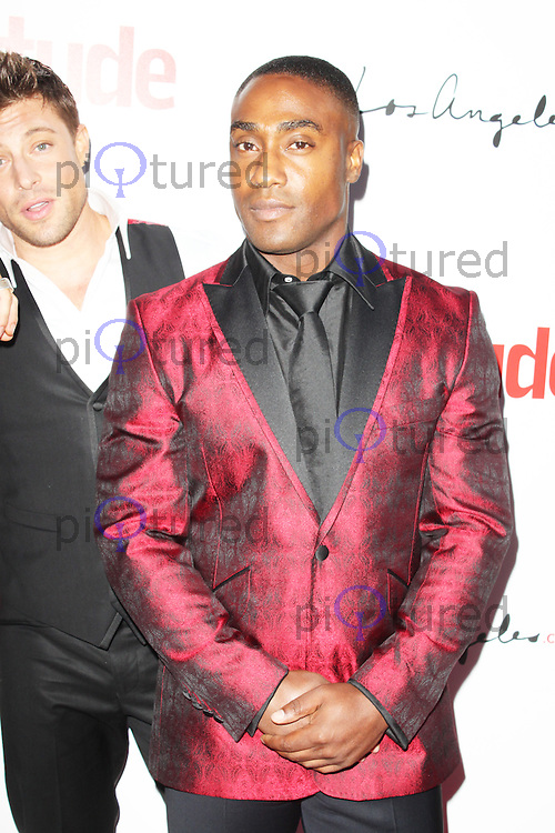 Simon Webbe, Attitude 100 World's Sexiest Men 2013 summer party, The Cumberland Hotel, London UK, 18 July 2013, (Photo by Brett Cove)
