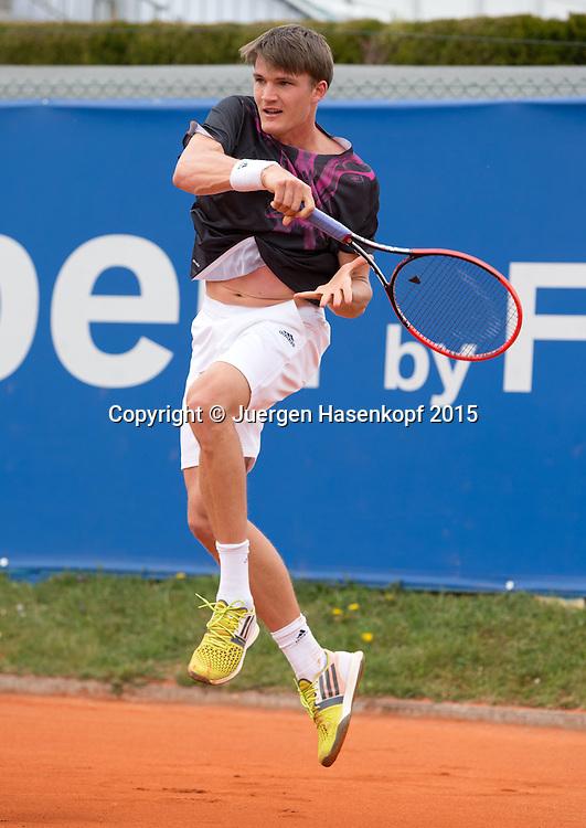 Richard Becker (GER),<br /> BMW Open 2015, MTTC Iphitos,<br /> Tennis - ATP -  Muenchen  - Germany  -