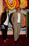 Mr. and Mrs. Frank Cohen, An Exhibition from the collection of Frank Cohen and part of Lordon Art fortnight, 3 Grafton St. 22 June 2004. ONE TIME USE ONLY - DO NOT ARCHIVE  © Copyright Photograph by Dafydd Jones 66 Stockwell Park Rd. London SW9 0DA Tel 020 7733 0108 www.dafjones.com