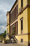 Naturpark Pfälzerwald, Deutsche Weinstraße ..Edenkoben, Villa Ludwigshöhe, Sommersitz von König Ludwig I.