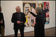 ERIC FISCHL; GINNY NEEL;Eric Fischl, Art Fair paintings. pv. Victoria Miro Fine art. Wharf Rd. London. 13 October 2014.