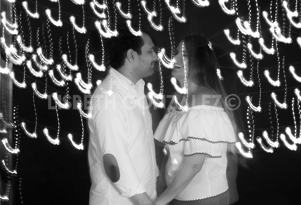 Photograph of soon to be married couple: Mary &amp; Foncho i<br />