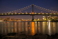 USA, East Coast, New York, Brooklyn,DUMBO, Manhattan Bridge