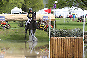 Kate Walls on Cooley Lands during the International Horse Trials at Chatsworth, Bakewell, United Kingdom on 13 May 2018. Picture by George Franks.