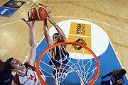 DESCRIZIONE : Minorca Menorca Spagna Spain Eurobasket Men 2007 Additional Qualifying Tournament FYR of Macedonia Bosnia<br /> GIOCATORE : Majki Dzozef Vilkinson Edin Bavcic<br /> SQUADRA : FYR of Macedonia Bosnia and Herzegovina<br /> EVENTO : Eurobasket Men 2007 Campionati Europei Uomini 2007<br /> GARA : FYR of Macedonia Bosnia<br /> DATA : 29/08/2007<br /> CATEGORIA : Rimbalzo Special<br /> SPORT : Pallacanestro<br /> AUTORE : Ciamillo&Castoria/E.Castoria<br /> Galleria : Eurobasket Men 2007<br /> Fotonotizia : Minorca Menorca Spagna Spain Eurobasket Men 2007 Additional Qualifying Tournament FYR of Macedonia Bosnia<br /> Predefinita :