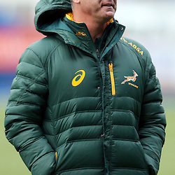 CARDIFF, WALES - NOVEMBER 25: Heyneke Meyer (Head Coach) of South Africa during the South African national rugby team training session at Cardiff Arms Park on November 25, 2014 in Cardiff, Wales. (Photo by Steve Haag/Gallo Images)