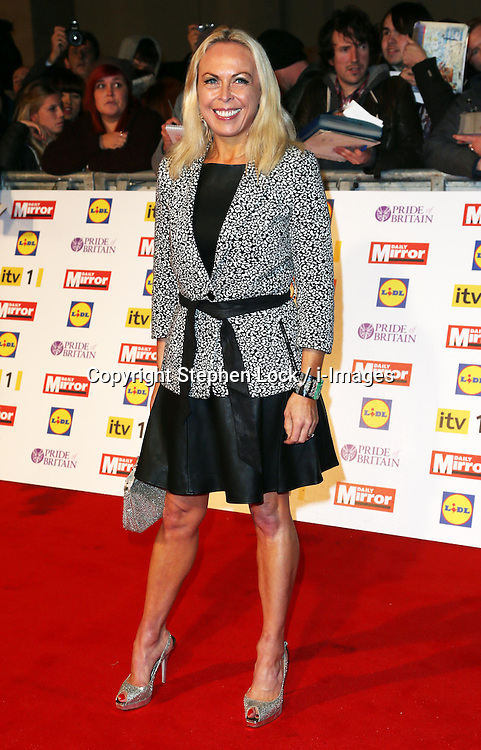 Jane Torvill arriving at the Pride of Britain Awards in London, Monday, 29th October  2012 Photo by: Stephen Lock / i-Images