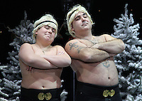 Stavros Flatley First Family Entertainment Pantomime photocall, Piccadilly Theatre, London UK, 26 November 2010: piQtured Sales: Ian@Piqtured.com +44(0)791 626 2580 (picture by Richard Goldschmidt)