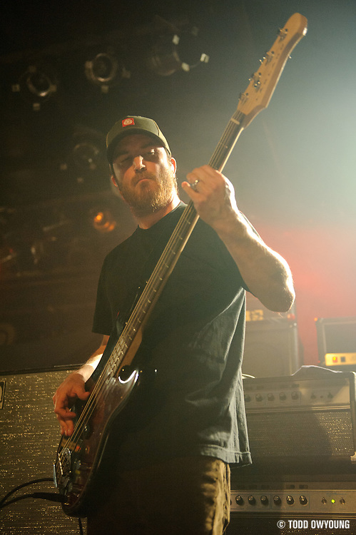 Photos of the band Clutch performing on February 20, 2011 at Pop's in Sauget, IL.