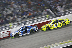 September 22, 2018 - Richmond, Virginia, United States of America - Alex Bowman (88) battles for position during the Federated Auto Parts 400 at Richmond Raceway in Richmond, Virginia. (Credit Image: © Chris Owens Asp Inc/ASP via ZUMA Wire)