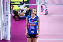 05-11-2016 ITA: Igor Gorgonzola Novara - Pomi Casalmaggiore, Novara<br /> Novara verliest met 3-1 van Casalmaggiore / Judith Pietersen #8<br /> <br /> ***NETHERLANDS ONLY***