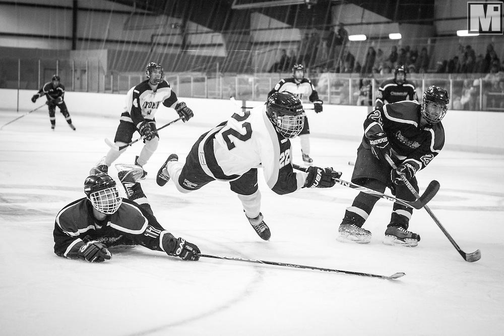 University of Wyoming Hockey at the City of Laramie Ice Center, Laramie, WY.