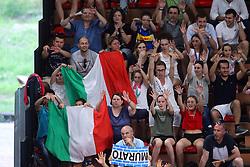 I TIFOSI DELL'ITALIA<br /> ITALIA - BULGARIA<br /> PALLAVOLO VNL VOLLEY PERUGIA <br /> PERUGIA 11-06-2019<br /> FOTO GALBIATI - RUBIN