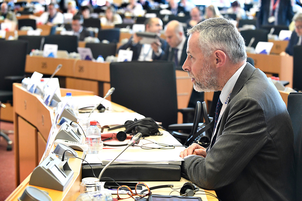12 May 2017, 123rd Plenary Session of the European Committee of the Regions <br /> Belgium - Brussels - May 2017 <br /> <br /> JONKMAN Rob <br /> <br /> &copy; European Union / Fred Guerdin