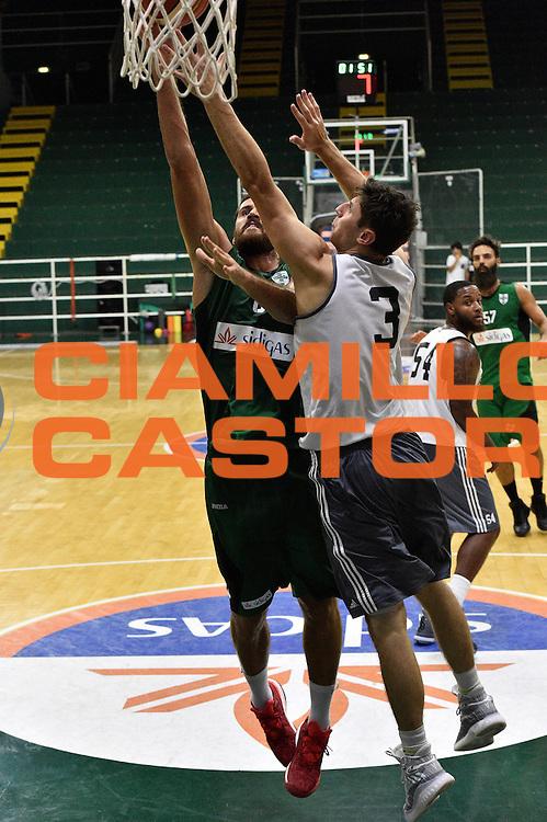 Andrea Zerini<br /> Sidigas Scandone Avellino Bryant University<br /> Lega Basket Serie A 2016/2017<br /> Avellino 26/08/2016<br /> Foto Ciamillo-Castoria