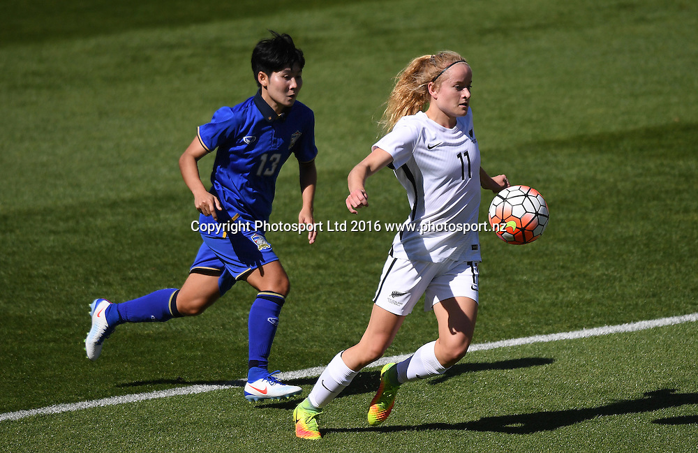 NZA's Paige Satchell in action.<br />