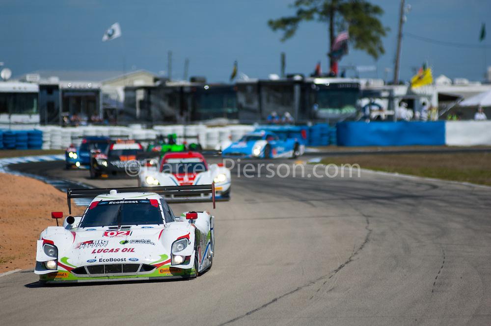 #02 Chip Ganassi Racing Riley DP: Scott Dixon, Tony Kanaan, Sage Karam