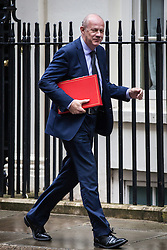 © Licensed to London News Pictures. 02/08/2016. London, UK. Secretary of State for Work and Pensions Damian Green arrives on Downing Street for a meeting of the Cabinet Committee on Economy and Industrial Strategy. Photo credit: Rob Pinney/LNP