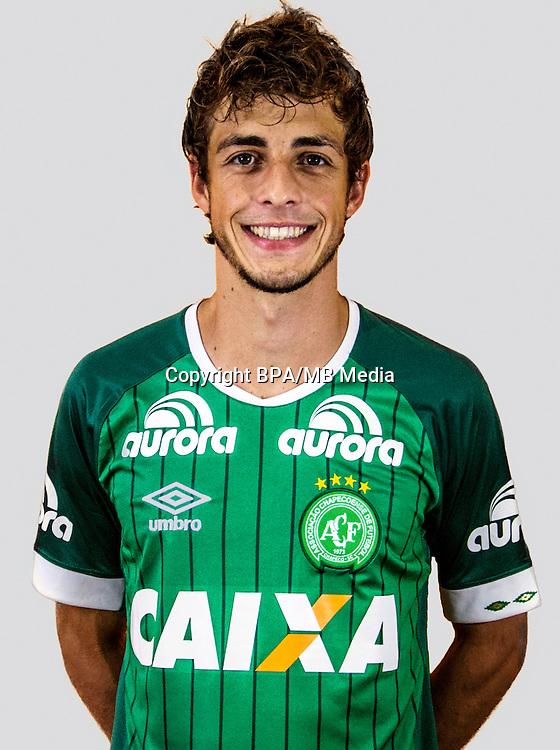 Brazilian Football League Serie A / <br /> ( Associacao Chapecoense de Futebol ) - <br /> Hyoran Kaue Dalmoro &quot; Hyoran &quot;