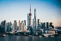 Shanghai, China cityscape.