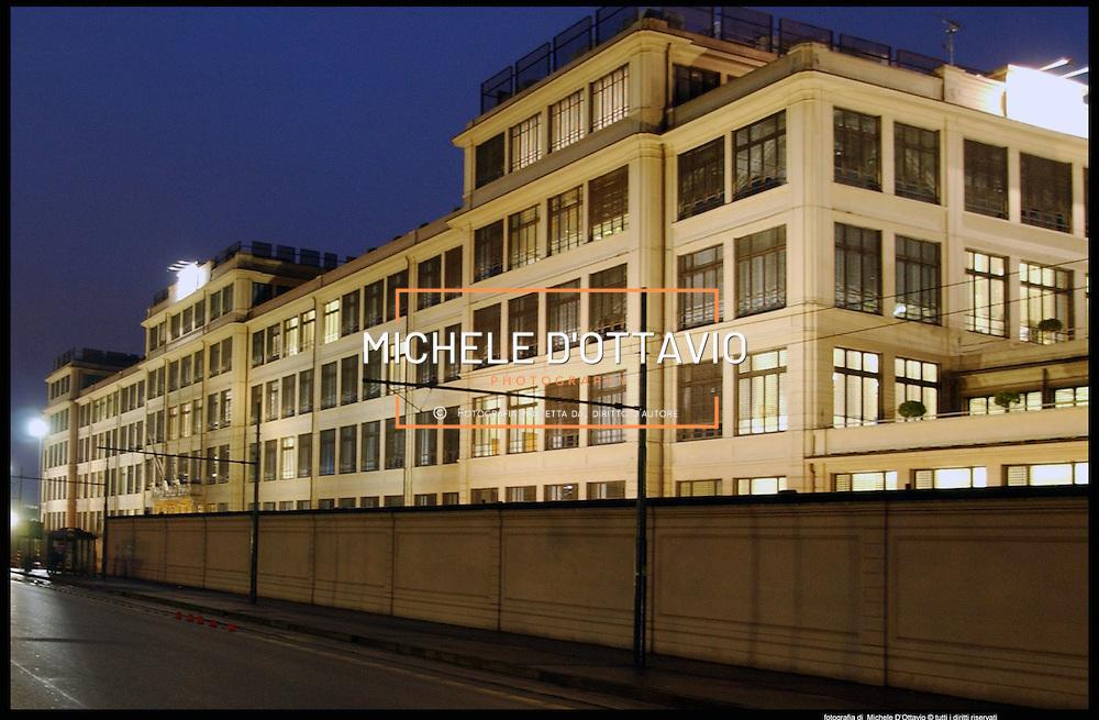 Torino  Palazzina uffici sede della FIAT al Lingotto