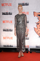 July 31, 2017 - New York, NY, USA - July 31, 2017  New York City..Deborah Ann Woll attending Marvel's 'The Defenders' TV show premiere on July 31, 2017 in New York City. (Credit Image: © Kristin Callahan/Ace Pictures via ZUMA Press)