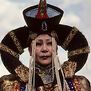 Mongolia. capital of the Gobi desert, folkloric dances and traditional dresses  dalanzadgad
