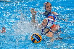 Olga Gorbunova#6 of Russia during the semi final Netherlands vs Russia on LEN European Aquatics Waterpolo January 23, 2020 in Duna Arena in Budapest, Hungary