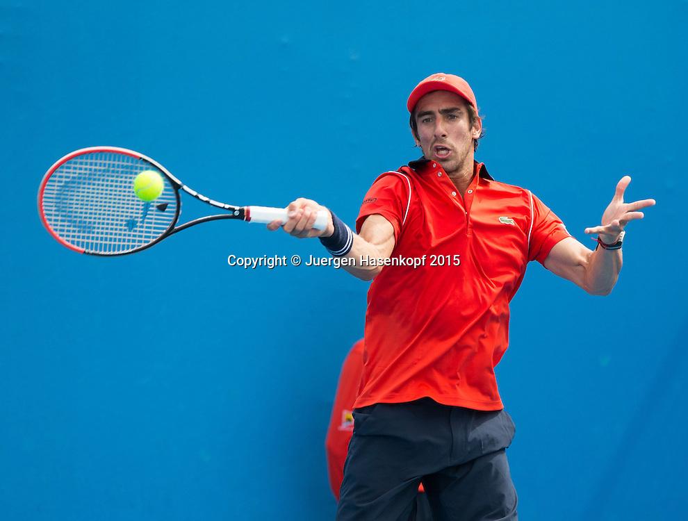 Pablo Cuevas (URU)<br /> <br />  - Australian Open 2015 -  -  Melbourne Park Tennis Centre - Melbourne - Victoria - Australia  - 20 January 2015. <br /> &copy; Juergen Hasenkopf