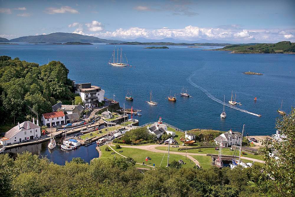 Crinan Harbour, Argyll
