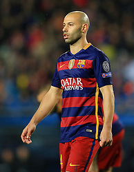 Javier Mascherano of Barcelona - Mandatory byline: Matt McNulty/JMP - 16/03/2016 - FOOTBALL - Nou Camp - Barcelona,  - FC Barcelona v Arsenal - Champions League - Round of 16