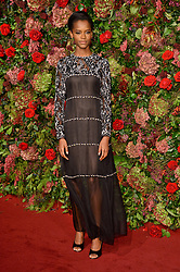 November 18, 2018 - London, London, UK - London, UK. Letitia Wright attends the 64th Evening Standard Theatre Awards held at the Theatre Royal, Dury Lane. (Credit Image: © Ray Tang/London News Pictures via ZUMA Wire)
