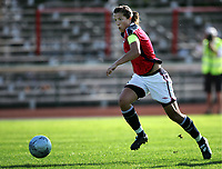 Fotball, 26. juli 2005, U21 damer, Åpent nordisk mesterskap, finale, Norge- USA 1-4,   Runa Vikestad, Norge