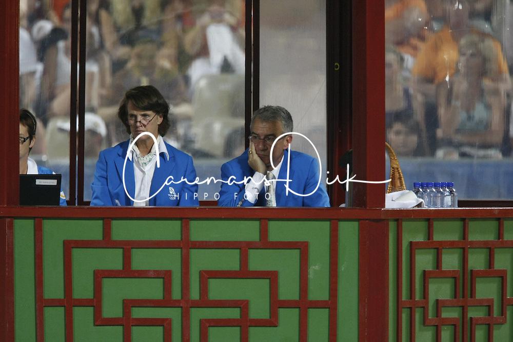 Jury<br /> Olympic Games Hong Kong 2008<br /> Photo © Dirk Caremans - Hippo Foto