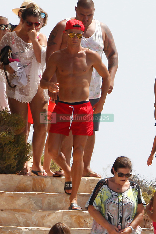 Cristiano Ronaldo and Giorgina Rodriguez go out together to eat at a restaurant in Formentera, enjoying a beach day<br /> 