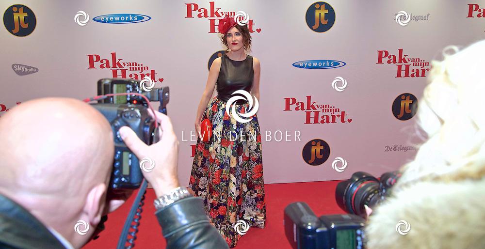 HILVERSUM - In de nieuwe JT Bioscoop is de eerste film 'Pak van mijn Hart' in premiere gegaan. Met hier op de foto  Carice van Houten. FOTO LEVIN DEN BOER - PERSFOTO.NU